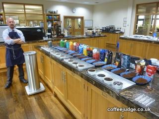 Taylors Coffee Tasting Visit