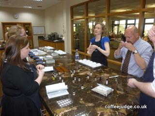 Taylors of Harrogate Coffee Tasting Session